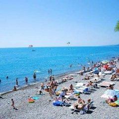 Эко-отель Озеро Дивное пляж
