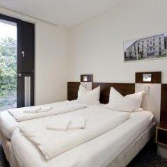 Отель Jugendherberge Düsseldorf Стандартный номер с различными типами кроватей фото 9