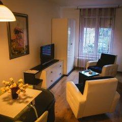 Отель Lina Apartments Сербия, Белград - отзывы, цены и фото номеров - забронировать отель Lina Apartments онлайн комната для гостей фото 5