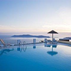 Отель Santorini Princess SPA Hotel Греция, Остров Санторини - отзывы, цены и фото номеров - забронировать отель Santorini Princess SPA Hotel онлайн бассейн фото 3