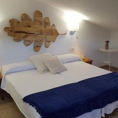 Отель Hostal Restaurante Nevandi Стандартный номер с различными типами кроватей фото 10