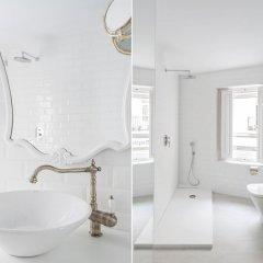 Отель Urban Suite Santander Испания, Сантандер - отзывы, цены и фото номеров - забронировать отель Urban Suite Santander онлайн ванная фото 2