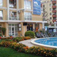 Апартаменты Flores Park Apartments Солнечный берег бассейн фото 2