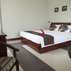 Отель The Moon Villa Hoi An 2* Стандартный семейный номер с различными типами кроватей фото 32