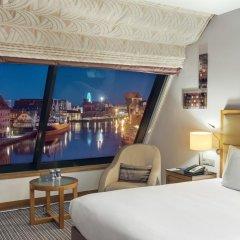 Отель Hilton Gdansk 5* Стандартный номер с различными типами кроватей фото 4