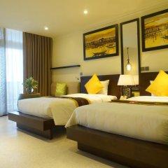 Отель Villa Hue 3* Улучшенный номер с 2 отдельными кроватями фото 3