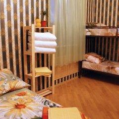 Хостел Кутузова 30 Кровать в общем номере с двухъярусной кроватью фото 21