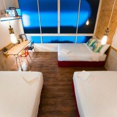 Отель Glur Bangkok Люкс повышенной комфортности разные типы кроватей фото 12