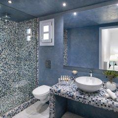 Отель Santorini Kastelli Resort 5* Улучшенный номер с различными типами кроватей фото 11