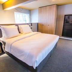 Отель De Hallen Нидерланды, Амстердам - отзывы, цены и фото номеров - забронировать отель De Hallen онлайн комната для гостей фото 2