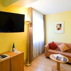Отель Parkhotel im Lehel 3* Номер Комфорт с различными типами кроватей фото 3