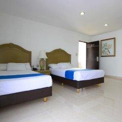 Hotel Embajadores 2* Стандартный номер с 2 отдельными кроватями