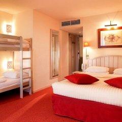 Отель Campanile Val de France 3* Стандартный номер с двухъярусной кроватью фото 7