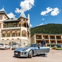 Отель Villa Waldkonigin Горнолыжный курорт Ортлер парковка