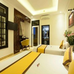 Hai Au Boutique Hotel & Spa 3* Улучшенный номер с различными типами кроватей фото 4