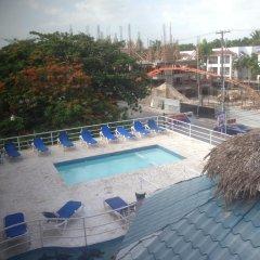 Отель Bocachica Beach Hotel Доминикана, Бока Чика - отзывы, цены и фото номеров - забронировать отель Bocachica Beach Hotel онлайн бассейн