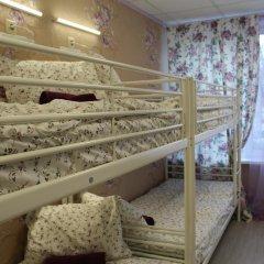 Хостел Ника-Сити Кровати в общем номере с двухъярусными кроватями фото 25
