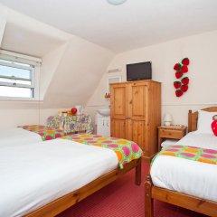 Отель Strawberry Fields 3* Стандартный номер с различными типами кроватей (общая ванная комната) фото 2