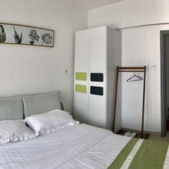 Апартаменты Shenzhen Wozhan Apartment K K Mall Улучшенные апартаменты с различными типами кроватей фото 20