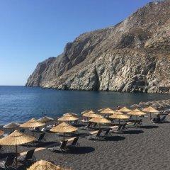 Отель Makarios Греция, Остров Санторини - отзывы, цены и фото номеров - забронировать отель Makarios онлайн пляж