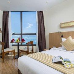 Отель StarCity Nha Trang 4* Студия Делюкс с различными типами кроватей фото 4