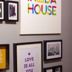 Хостел InDaHouse Кровать в общем номере фото 22