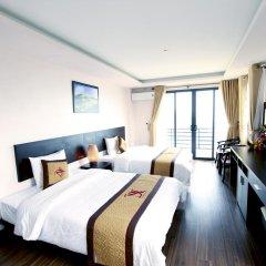 Отель Nguyen Dang Guesthouse Улучшенный номер с различными типами кроватей фото 5