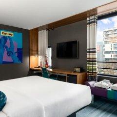 Отель Aloft Brussels Schuman 3* Номер Savvy с 2 отдельными кроватями фото 2