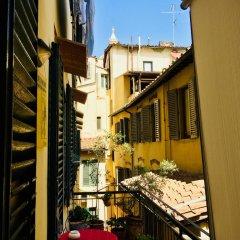 Отель Dei Mori Firenze балкон