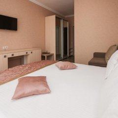 Гостиница Кристалл Стандартный номер двуспальная кровать фото 13