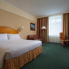 Гостиница Марриотт Москва Гранд 5* Номер Делюкс с двуспальной кроватью фото 5