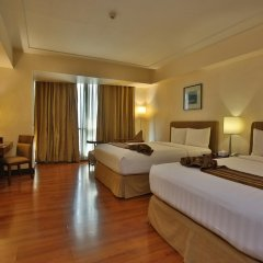 Crown Regency Hotel and Towers Cebu 4* Номер Делюкс с различными типами кроватей фото 4