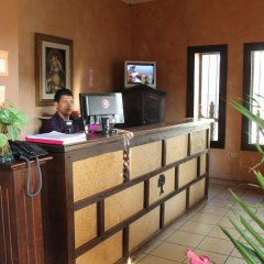 Отель Antiguo Roble Гондурас, Грасьяс - отзывы, цены и фото номеров - забронировать отель Antiguo Roble онлайн интерьер отеля