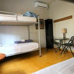 La Ronda Hostel Tegucigalpa Кровать в общем номере с двухъярусной кроватью фото 3