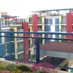 Отель Studios in Complex Elit 4 Солнечный берег балкон