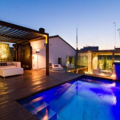 Отель Valencia Luxury Alma Palace Испания, Валенсия - отзывы, цены и фото номеров - забронировать отель Valencia Luxury Alma Palace онлайн бассейн фото 2
