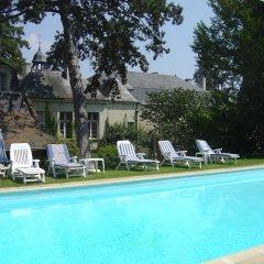 Отель Château De Beaulieu Сомюр бассейн