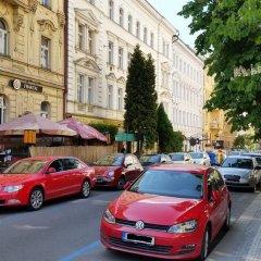 Отель Lovely Prague Havanska парковка