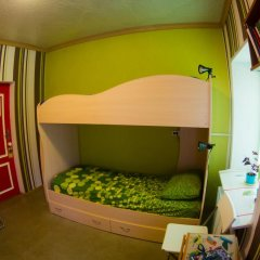 Хостел Гуд Лак Кровать в общем номере фото 34