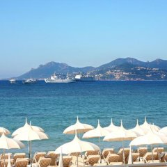 Отель Residhotel Les Coralynes Франция, Канны - 9 отзывов об отеле, цены и фото номеров - забронировать отель Residhotel Les Coralynes онлайн пляж фото 2