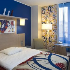 Отель Cumulus Hakaniemi 3* Стандартный семейный номер с двуспальной кроватью фото 2