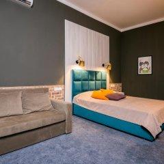 Гостиница Beton Brut 4* Панорамный номер с двуспальной кроватью