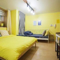 Отель Han River Guesthouse 2* Студия с различными типами кроватей фото 27
