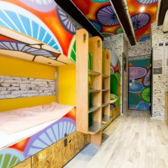 Chillout Hostel Zagreb Кровать в общем номере с двухъярусной кроватью фото 35