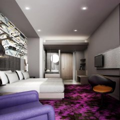 Отель Mercure Bangkok Makkasan 4* Представительский номер с различными типами кроватей фото 5