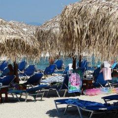 Отель Rigakis Греция, Ханиотис - отзывы, цены и фото номеров - забронировать отель Rigakis онлайн пляж фото 2