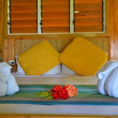 Отель Daku Resort Savusavu 3* Бунгало с различными типами кроватей фото 6