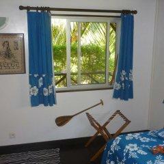 Отель Fare Vaihere Французская Полинезия, Муреа - отзывы, цены и фото номеров - забронировать отель Fare Vaihere онлайн комната для гостей фото 3