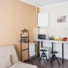 Мини отель Ваша студия Студия разные типы кроватей фото 17