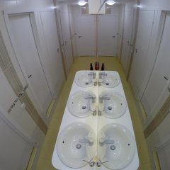 Гостиница HQ Hostelberry Кровать в общем номере с двухъярусной кроватью фото 40